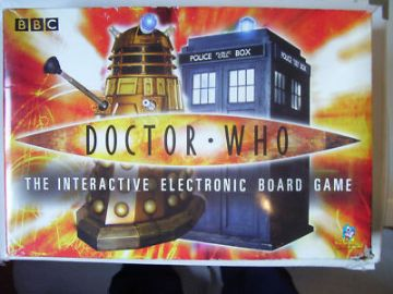 Doctor Who Dalek Electronic Board Game